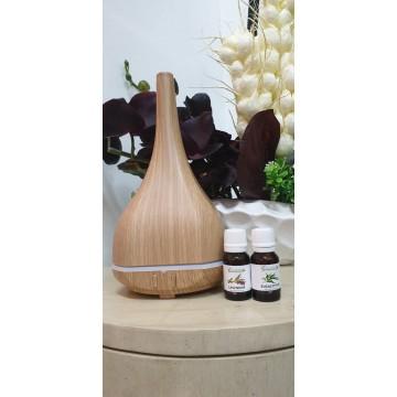 Aroma diffuser + Essential Oil Bundle Set